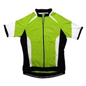ДжерсиВелоодежда<br>Изготовлен из CoolPlus ткани - быстро выводит влагу, быстро высыхает, воздухопроницаемая<br>Светоотражающие детали<br>Три задних кармана для хранения<br><br>Пол: Унисекс<br>Возраст: Взрослый<br>Вид: майка, футболка