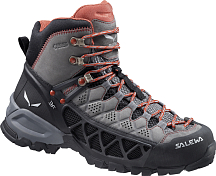 ������� ��� ��������� (�������) Salewa Hike Approach Women's WS Alp Flow Mid Gtx Charcoal/indio /