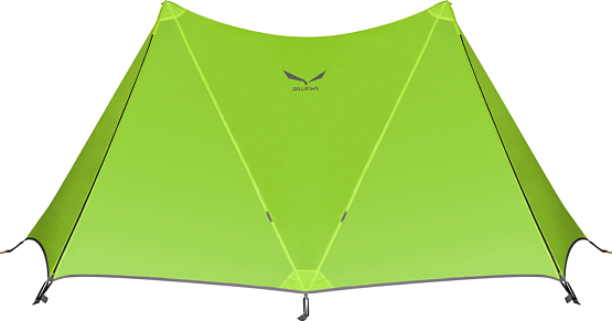 Купить Палатка Salewa 2015 Mountain MULTI SHELTER II TENT CACTUS/GREY Туристические палатки 1150305