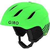 Зимний Шлем Giro 2018-19 NINE JR MATTE BRIGHT GREEN ZOOM