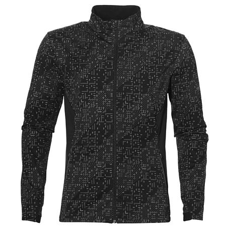 Купить Куртка беговая Asics 2017-18 LITE-SHOW WINTER JACKET ЧЕРНЫЙ Одежда для бега и фитнеса 1350998