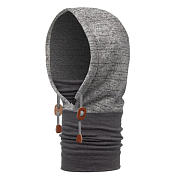 Капюшон Buff Polar Thermal Hoodie Melange Grey