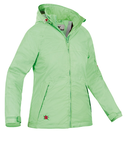 Куртка туристическая Salewa Alpine Active RAINDROP RTC W JKT mint (св. салатовый)