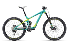 Велосипед Giant Reign Advanced 27.5 1 2016 GREEN / Зеленый