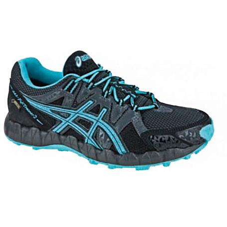 Купить Беговые кроссовки для XC Asics 2013-14 GEL-FUJI TRAINER 2 GTX черный/голубой/темно-серый Кроссовки бега 918502
