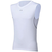 Футболка BBB BaseLayer Man sleeveless white (BUW-02)