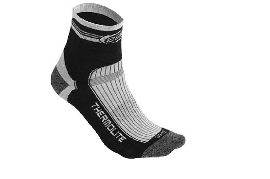 Купить Носки BBB socks ThermoFeet black white, Носки, 714620