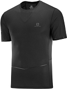 Футболка беговая SALOMON 2020 Sense Ultra Tee M Black