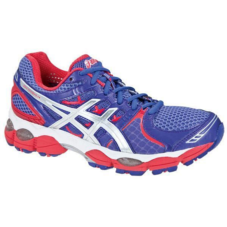 Купить Беговые кроссовки элит Asics 2013 GEL-NIMBUS 14 Фиолетовый/Светло-серый/Розовый, Кроссовки для бега, 903381