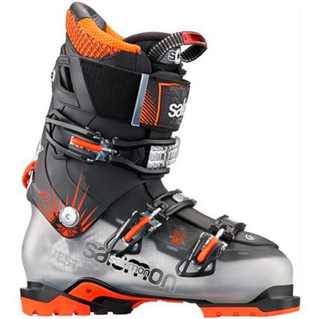 Купить Горнолыжные ботинки SALOMON 2013-14 QUEST 90 Сrystal Translu,/Bk Ботинки горнoлыжные 904181