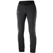 Брюки беговые Salomon 2018-19 LIGHTNING WARM SSHELL PANT W Black
