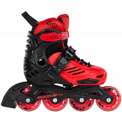 Роликовые коньки Powerslide 2021 Khaan Junior LTD Black/Red