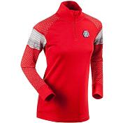 Жакет беговойОдежда для бега и фитнеса<br>Одежда для базового слоя<br> <br> - воротник стойка на молнии с защитой подбородка<br> - манжеты с отверстием для большого пальца<br> - рукава реглан<br> - 100% шерсть мериноса