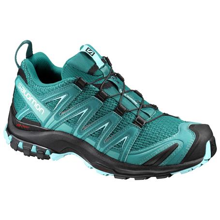 Купить Беговые кроссовки для XC SALOMON 2017 SHOES XA PRO 3D W Deep Peaco/BK/Ablue Кроссовки бега 1337940