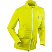 Куртка беговая Bjorn Daehlie 2020 Jacket Winter Run Wmn Yellow