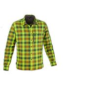 Рубашка туристическаяОдежда туристическая<br>Практичная фланелевая рубашка в клетку обладает всеми необходимыми для треккинга рабочими характеристиками.<br>Основные характеристики мод ели:<br>инновативное полое волокно: обеспечивает тепло и легкость &amp;#40;малый вес&amp;#41;<br>закатывающиеся рукава с клапаном на отвороте<br>планка с застежками по всей длине<br>нагрудный карман на молнии<br>Нагрудный карман с клапаном.<br>Основной материал: Polarlite flannel 190<br>Цвет: красный<br>Размер: XS - 5XL<br><br>Пол: Мужской<br>Возраст: Взрослый<br>Вид: рубашка