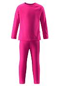 Комплект (футболка дл.рук. + брюки) Reima 2015-16 Lani hot pink