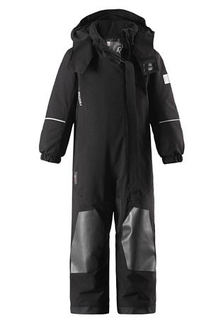 Купить Комбинезон горнолыжный Reima 2017-18 Vuono Black Детская одежда 1351653