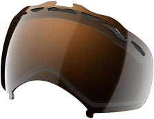 Линза Oakley Splice Dual Vented Black Iridium