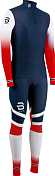 Комбинезон беговой Bjorn Daehlie 2020-21 Racesuit Nations 2-Piece Norwegian Flag