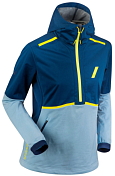 Куртка беговая Bjorn Daehlie 2020 Jacket Balance Wmn Blue/Light blue