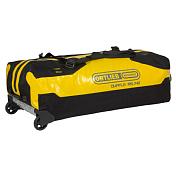 Сумка на колесахСумки на колесах<br>Дорожная сумка на колесах для поездок и путешествий<br> <br> - объем 140 л<br> - вес 2,75 кг<br> - Прочный материал<br> - Большие колеса из ПУ диаметром 90 мм<br> - Удобная мягкая ручка для транспортировки<br> - Съемные лямки (рюкзак функция)<br> - Алюминиевая база между колесами для защиты основания<br> - 2 внутренних кармана&amp;nbsp;<br> - Внутренние компрессионные ремни<br> - 1 внешний сетчатый карман с застежкой-молнией (не является водонепроницаемым)<br> - 2 дополнительные точки крепления для снаряжения<br> - Сумка может быть заблокирована с помощью навесного замка (замок не входит в комплект)<br> - Водонепроницаемая конструкция с защитой IP67<br> - Водонепроницаемые молнии TizipВодонепроницаемые и крайне износостойкие молнии он немецкого производителя Titex. Часто используются при изготовлении герметичных сумок-баулов. Обеспечивают полную изоляцию от влаги и подходят для наиболее суровых условий.<br>
