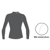 Футболка с длинным рукавом ACCAPI TECNOSOFT PLUS EQT LONGSL.LUPETTOLADY white/silver (белый/серый)