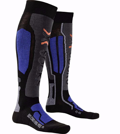 Купить Носки X-Bionic 2016-17 X-SOCKS SKI CARVING PRO B040 / Черный, Носки, 1277676