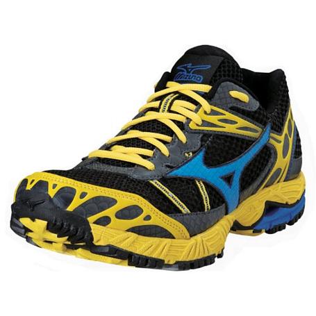 Купить Беговые кроссовки для XC Mizuno 2013 Wave Ascend 7 Ancite/ImpBlue/CyberYel Кроссовки бега 901505