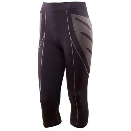 Брюки 3/4 ACCAPI polar bear seamless 3/4 TROUSRS LADY black / anthracite