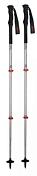 Палки треккинговые KOMPERDELL Explorer Compact Powerlock silver/red