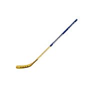 Хоккейная клюшкаКоньки ледовые<br>Хоккейная клюшка профессионального уровня для игры в хоккей.&amp;nbsp;<br> <br> -для детей от 4-х лет<br> -ручка выполнена из прессованной фанеры, крюк из стекловолокна с березовым шпоном<br> -загиб: L/R<br> -длина: 115 см<br> -вес: 650 гр<br> -конструкция ручки: прессованная фанерная плита, круговая окраска<br> -конструкция крюка: березовый шпон, стекловолокно<br> -вставки из ABS-пластика