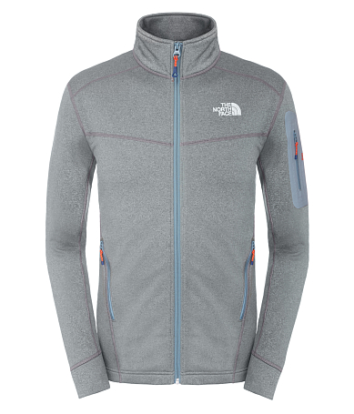 Жакет туристический THE NORTH FACE 2015 Outerwear M HADOKEN FZ JACKET CONCRET GR HTHR W4K