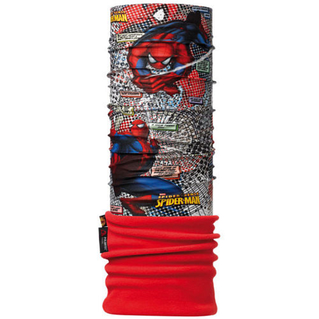 Бандана BUFF Licenses SPIDERMAN™ JUNIOR POLAR BUFF® COMIC / RED