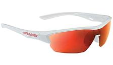 Очки солнцезащитныеОчки солнцезащитные<br>Велосипедные очки с зеркальными линзами<br> <br> -оправа из гриламида TR90 и вставки из резины Megol© на всех контактных точках<br> -RW - многослойное зеркальное покрытие<br> -линзы IDRO с водо- и пылеотталкивающей обработкой<br> -в комплекте сменные оранжевые линзы из поликарбоната, термоформованный защитный футляр<br> &amp;nbsp;и салфетка из микрофиры<br> -линзы полностью блокируют УФ(до 400 Нм)<br><br>Пол: Унисекс<br>Возраст: Взрослый