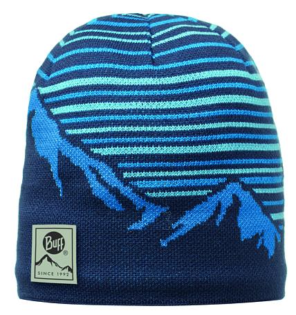 Купить Шапка BUFF KNITTED HATS LAKI BLUE Банданы и шарфы Buff ® 1169403