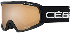 Очки горнолыжные CEBE 2019-20 Fanatic L Black/Orange Flash Mirror