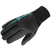 Перчатки горные Salomon 2018-19 EQUIPE GLOVE U Black/Waterfall