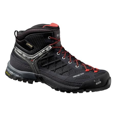 Купить Ботинки для треккинга (высокие) Salewa MS FIRETAIL EVO MID GTX Black Треккинговая обувь 1090303