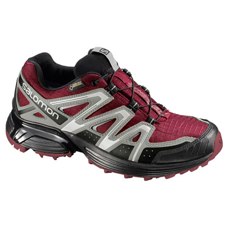 Беговые кроссовки для XC SALOMON 2013-14 Trail running XT HORNET GTX W Bordeaux/TITA