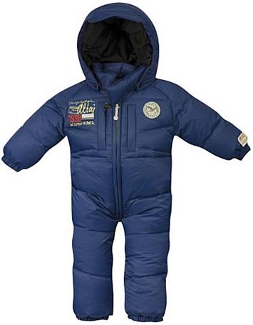 Купить Комбинезон горнолыжный Salewa Kid KULUNDA DWN KID OVERALL winter night uni (темно-синий) Детская одежда 602672