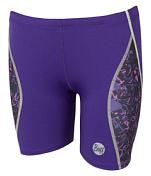 Шорты беговые BUFF SHORT TIGHTS BERYL (PANSY) фиолетовый