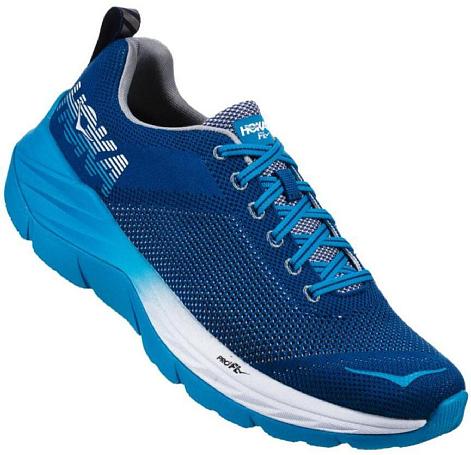 Беговые кроссовки Hoka 2019 M Mach True Blue/Blueprint - купить в КАНТе