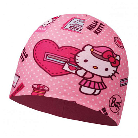 Шапка BUFF HELLO KITTY CHILD MICROFIBER POLAR HAT BUFF MAILING ROSE