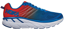 Беговые кроссовки Hoka M Clifton 6 Mandarin red/Imperial blue