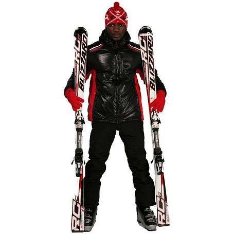 Купить Брюки горнолыжные MAIER 2010-11 Mammoth (black) черный Одежда горнолыжная 643757
