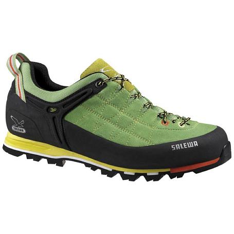 Купить Ботинки для альпинизма Salewa Alpine Approach MS MTN TRAINER - PELLE Greenwich/Citro, Альпинистская обувь, 1015707