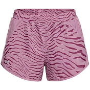 Шорты беговые Under Armour 2019 Fly-By Printed Shorts Purple Prime