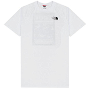 Футболка для активного отдыха THE NORTH FACE 2017 M SS NORTH FACES TEE  TNF WH/TNF BL