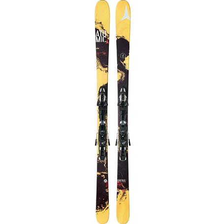 Купить Горные лыжи с креплениями ATOMIC 2014-15 VANTAGE RIVAL PLUS & XTO 10 BLACK/Yellow 1140164